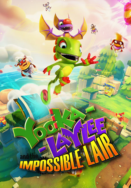 Yooka-Laylee and the Impossible Lair - Cover / Packshot