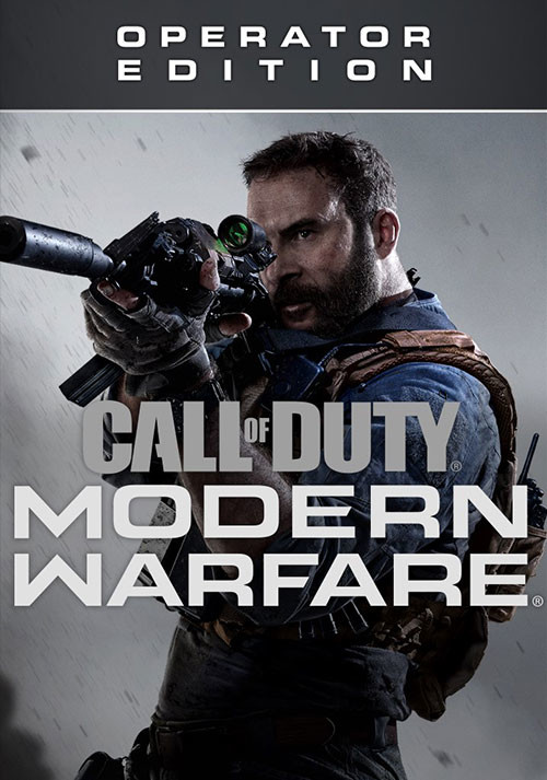 Call of Duty: Modern Warfare - Operator Edition - Cover / Packshot