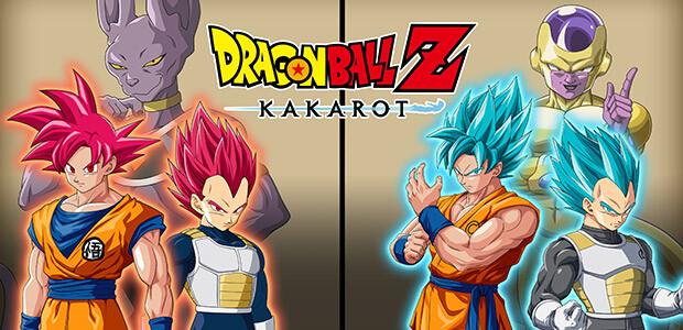 DRAGON BALL Z: KAKAROT - A New Power Awakens Set - Cover / Packshot