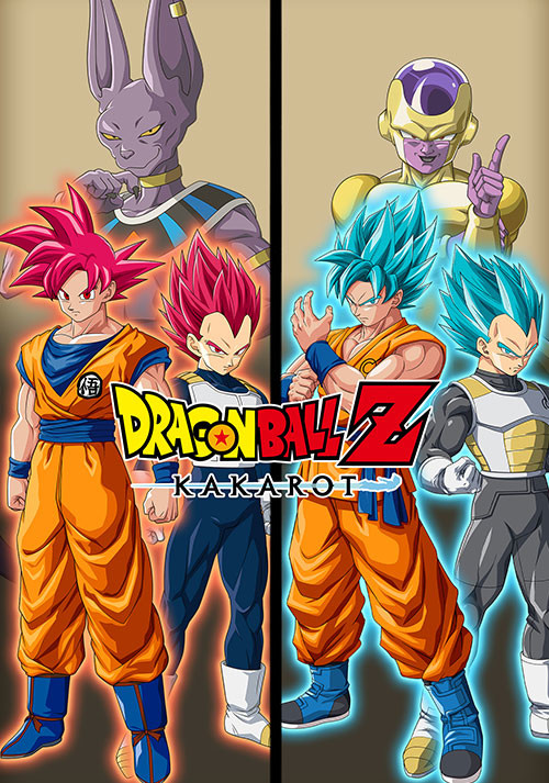 DRAGON BALL Z: KAKAROT - A New Power Awakens Set - Cover / Packshot