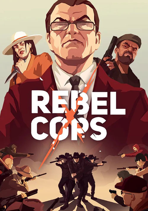Rebel Cops - Cover / Packshot