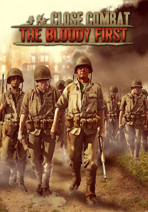 Close Combat: The Bloody First - Cover / Packshot