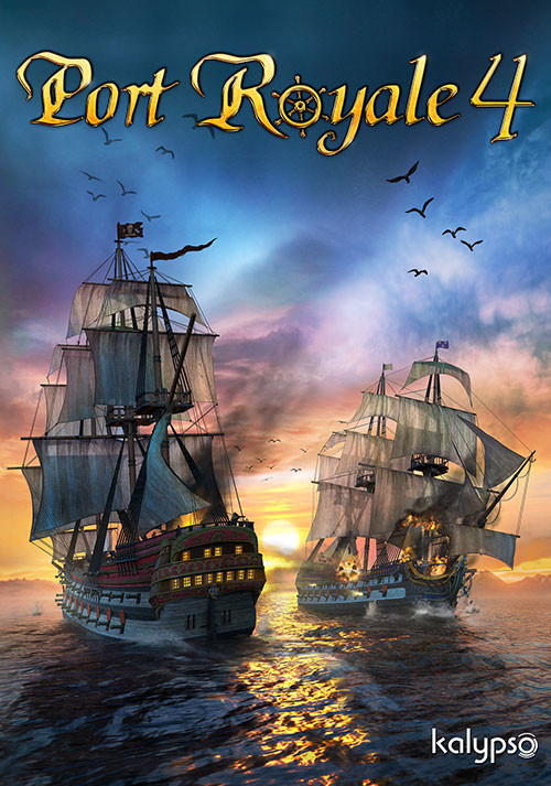 Port Royale 4 - Cover / Packshot