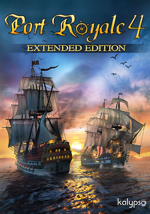 Port Royale 4 Extended Edition - Cover / Packshot