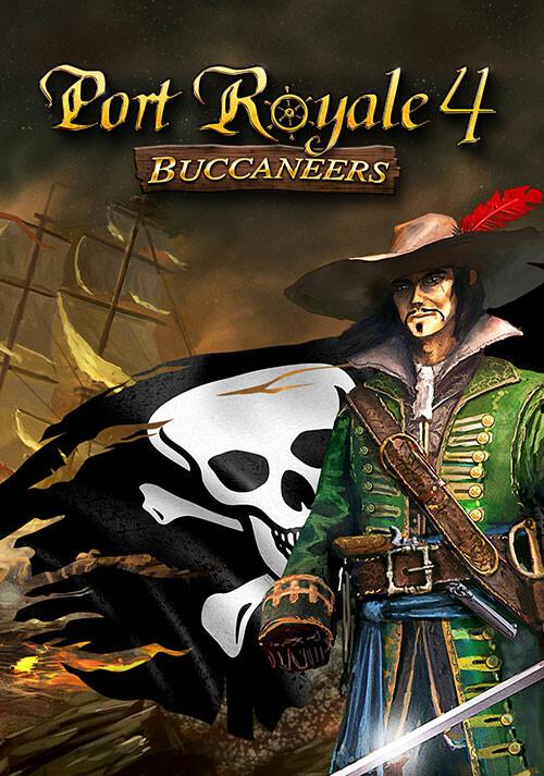 Port Royale 4 - Buccaneers - Cover / Packshot