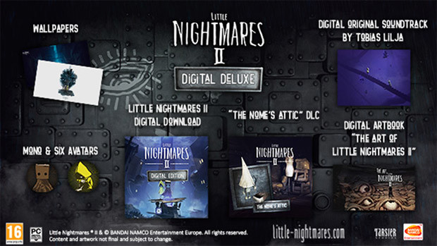 Little Nightmares II Digital Deluxe Content
