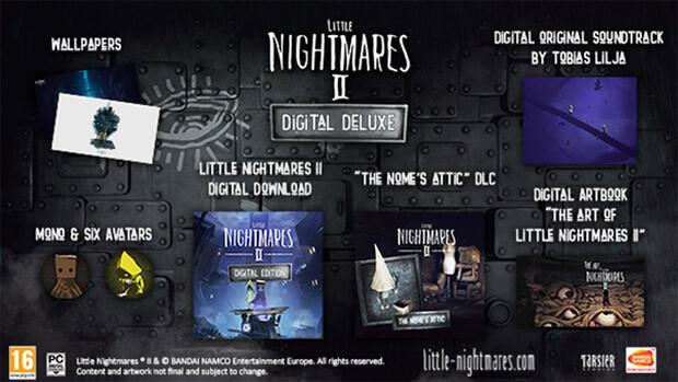 Little Nightmares II Digital Deluxe Content
