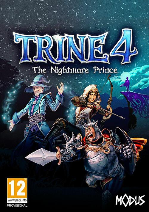 Trine 4: The Nightmare Prince - Cover / Packshot