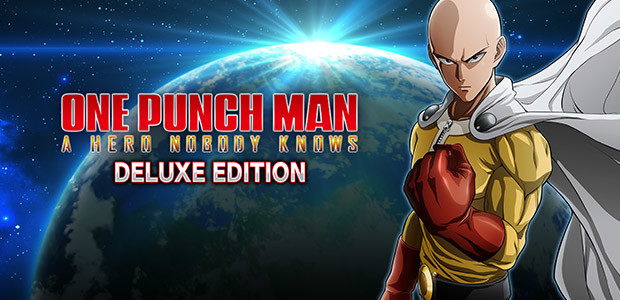 One Punch Man: A Hero Nobody Knows Deluxe Edition - Cover / Packshot
