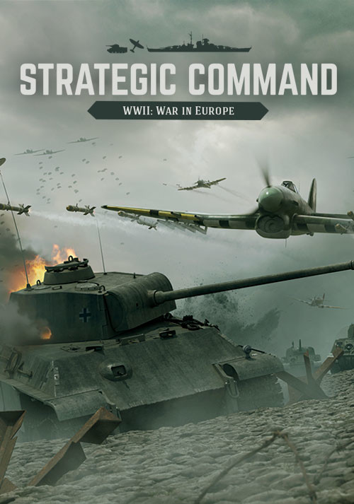 Strategic Command WWII: War in Europe - Cover / Packshot