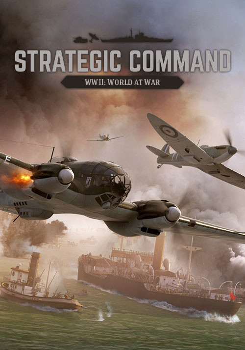 Strategic Command WWII: World at War - Cover / Packshot