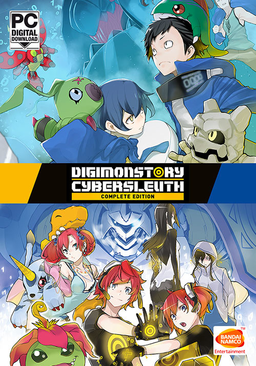 Digimon Story: Cyber Sleuth Complete Edition - Cover / Packshot