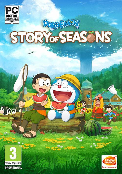 Doraemon Story of Seasons - Cover / Packshot