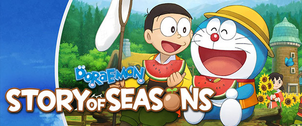 Tend to your farm with Doraemon Story of Seasons - Now Available!