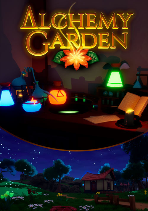 Alchemy Garden - Cover / Packshot