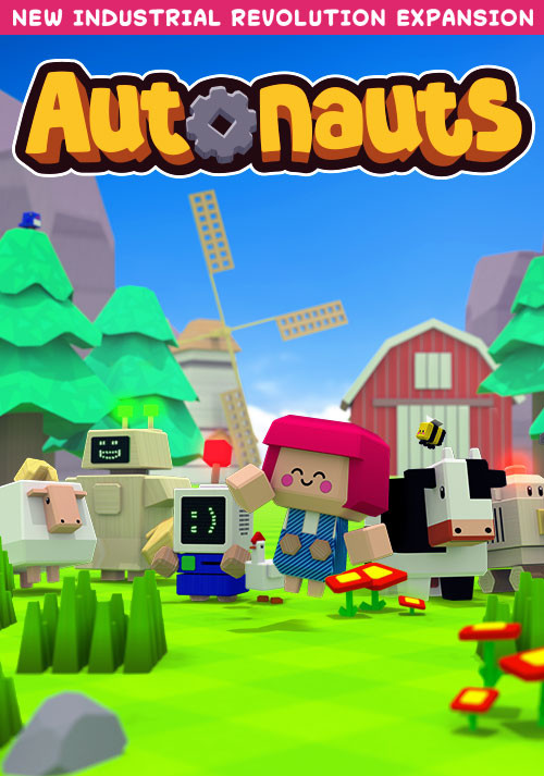 Autonauts - Cover / Packshot