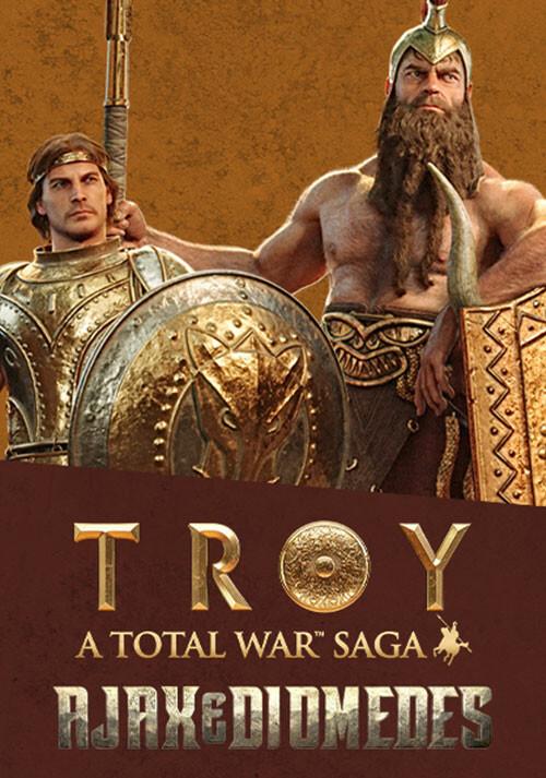 A Total War Saga: TROY - Ajax & Diomedes - Cover / Packshot