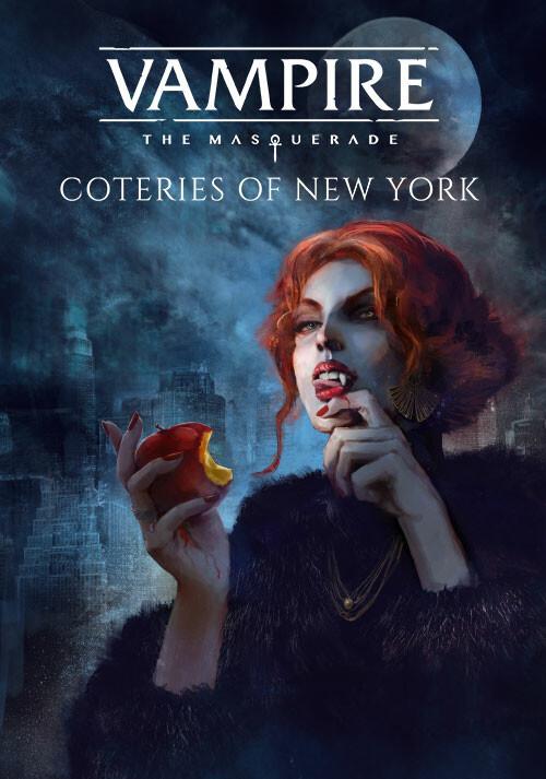 Vampire: The Masquerade - Coteries of New York - Cover / Packshot