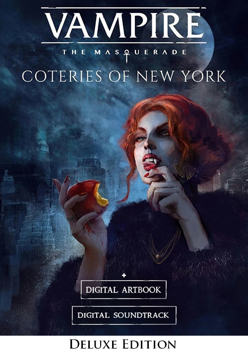 Vampire: The Masquerade - Coteries of New York Deluxe Edition - Cover / Packshot