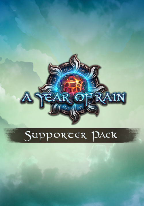 A Year Of Rain - Supporter Pack - Cover / Packshot