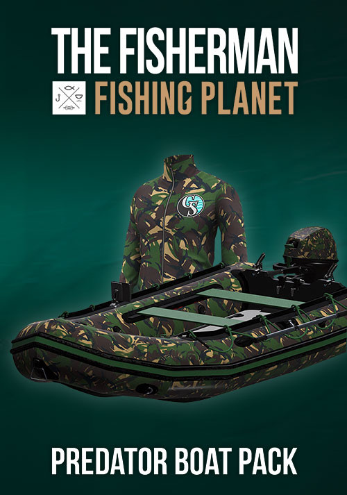 The Fisherman - Fishing Planet: Predator Boat Pack - Cover / Packshot