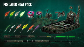 Screenshot1 - The Fisherman - Fishing Planet: Predator Boat Pack