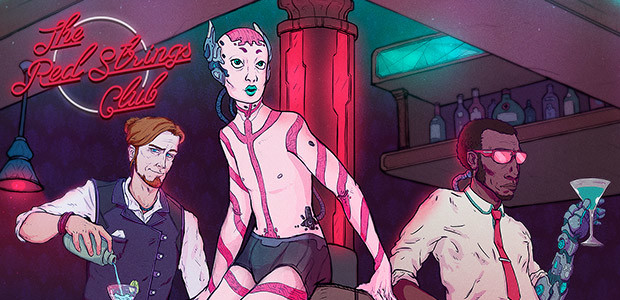 The Red Strings Club - Cover / Packshot