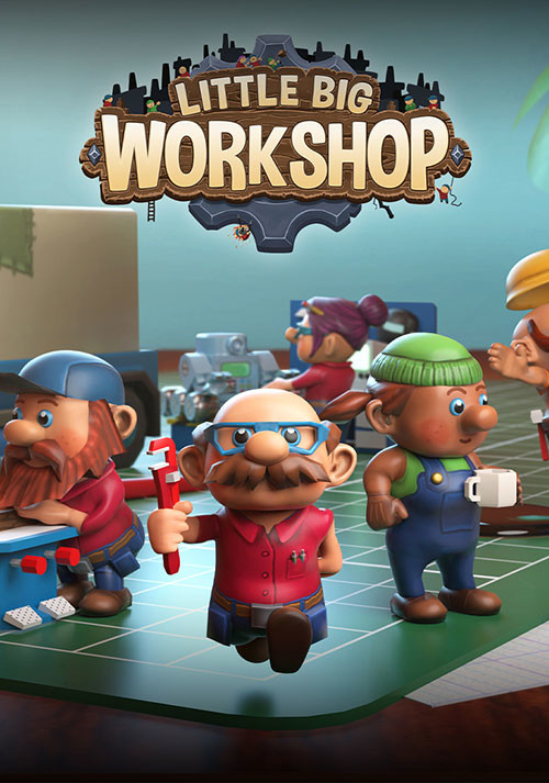 Little Big Workshop - Cover / Packshot