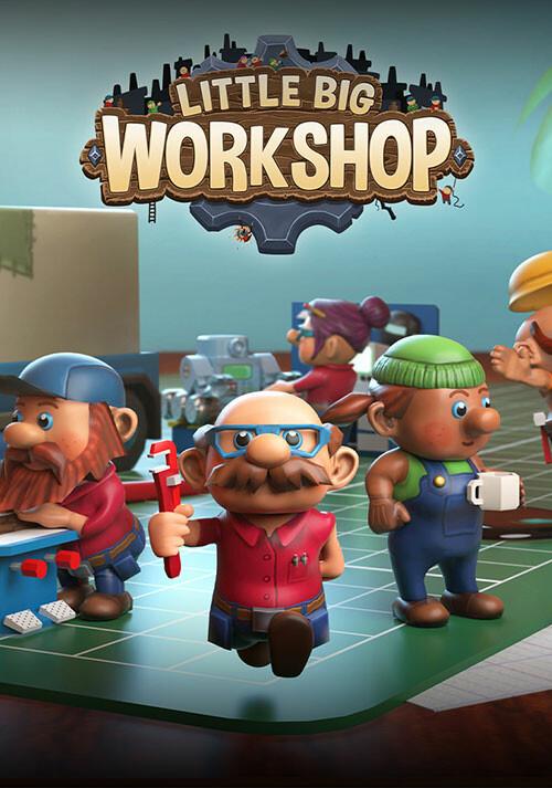 Little Big Workshop - Cover / Packshot
