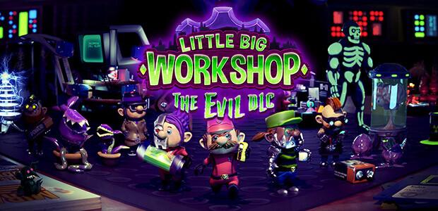 Little Big Workshop - The Evil DLC - Cover / Packshot
