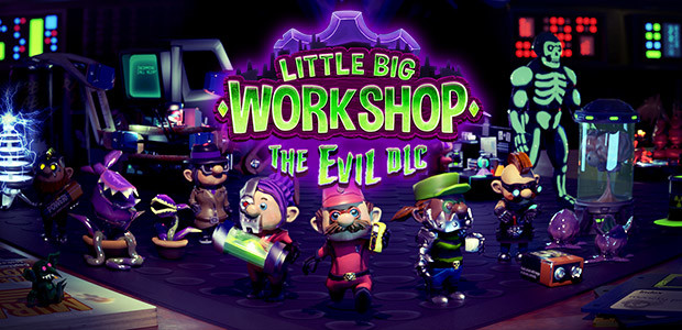 Little Big Workshop - The Evil DLC - Cover / Packshot