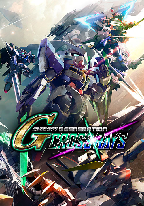 SD Gundam G Generation Cross Rays - Cover / Packshot