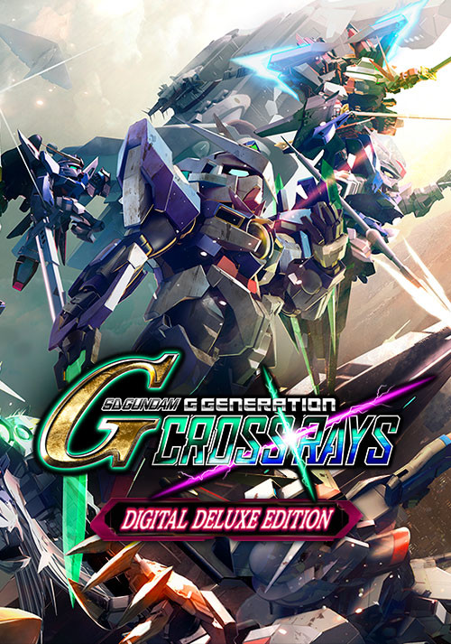SD Gundam G Generation Cross Rays Deluxe Edition - Cover / Packshot