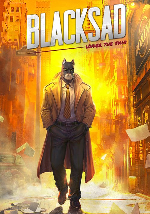 Blacksad: Under the Skin - Cover / Packshot