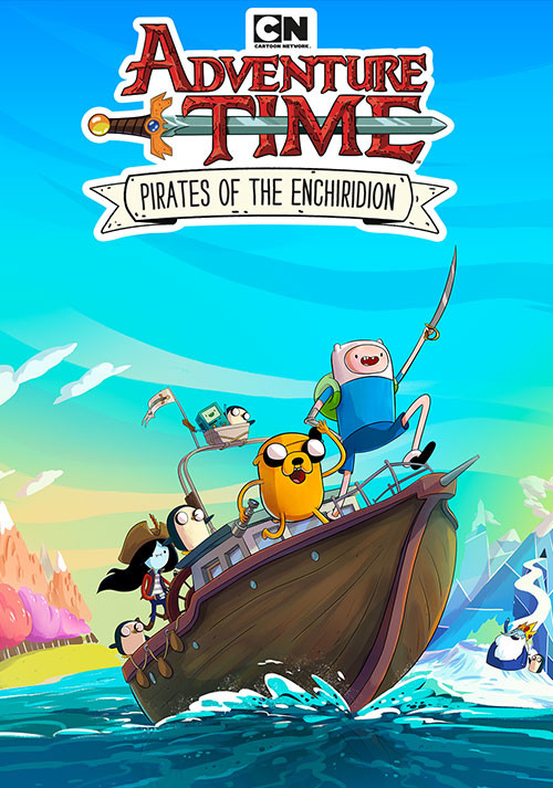 Adventure Time: Pirates of the Enchiridion - Cover / Packshot
