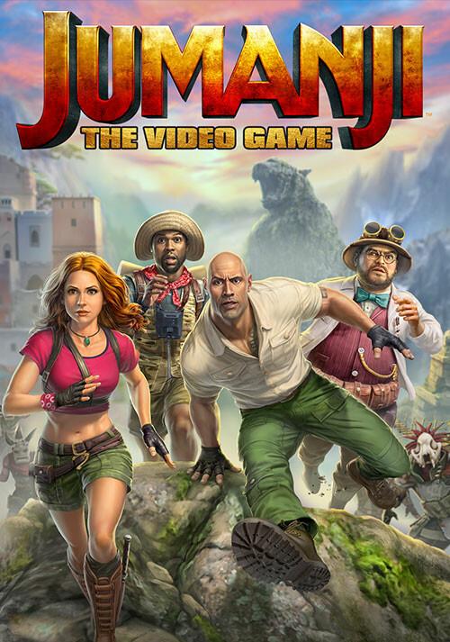 JUMANJI: The Video Game - Cover / Packshot