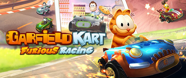 Katze mit Rennsport-Ambitionen: Garfield Kart - Furious Racing jetzt mit Launch-Trailer am Start