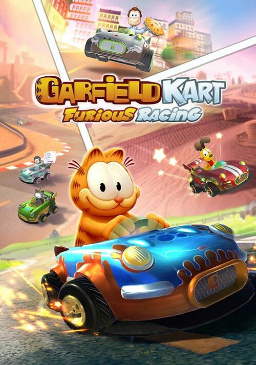 Garfield Kart - Furious Racing - Cover / Packshot