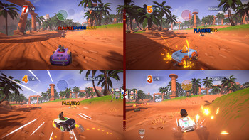 Screenshot10 - Garfield Kart - Furious Racing