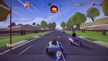 Screenshot1 - Garfield Kart - Furious Racing