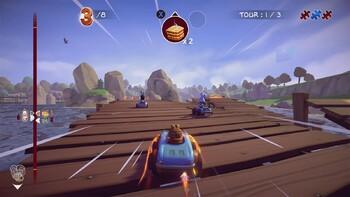 Screenshot2 - Garfield Kart - Furious Racing