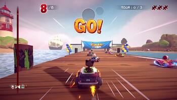 Screenshot3 - Garfield Kart - Furious Racing