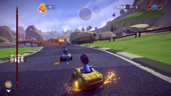 Screenshot9 - Garfield Kart - Furious Racing