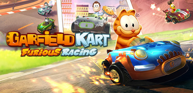 Garfield Kart Furious Racing Steam Key For Pc And Mac Buy Now