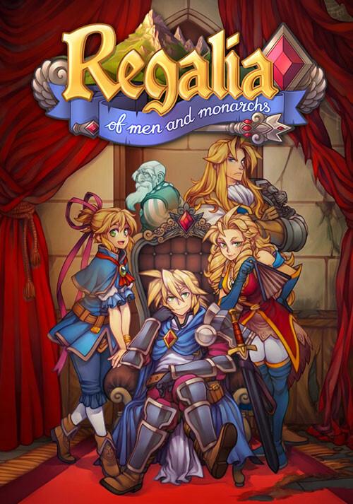 Regalia: Of Men and Monarchs - Cover / Packshot