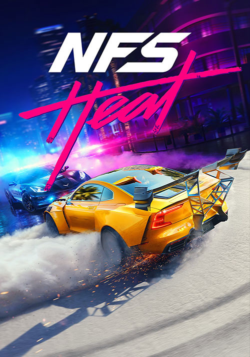 Need for Speed: Heat - Cover / Packshot