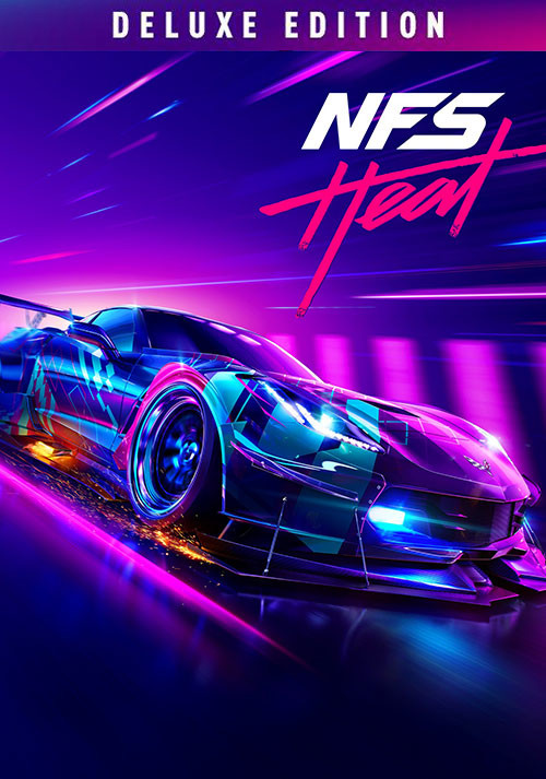 Need for Speed: Heat Deluxe Edition - Cover / Packshot