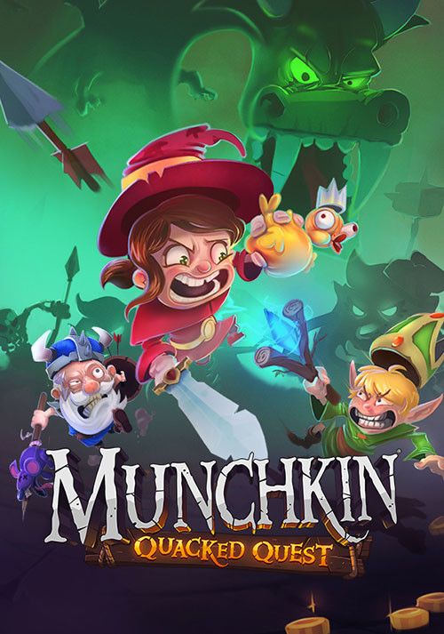 Munchkin: Quacked Quest - Cover / Packshot