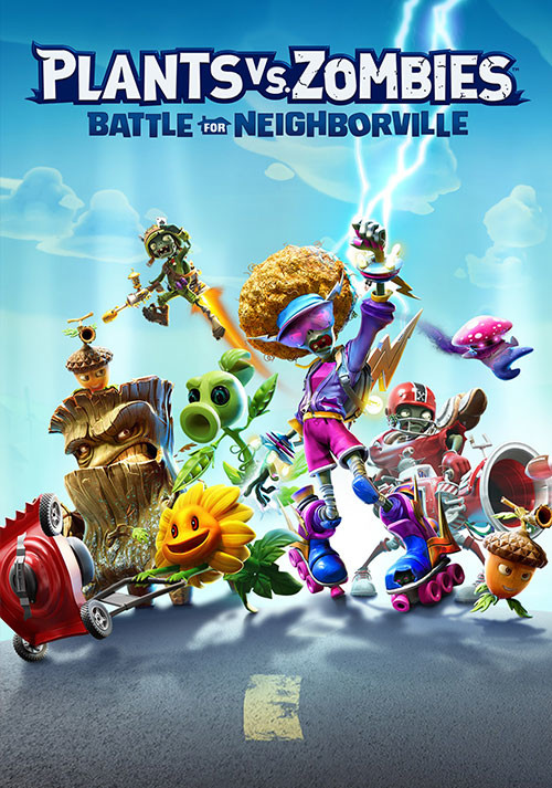Plants vs. Zombies: Battle for Neighborville - Cover / Packshot