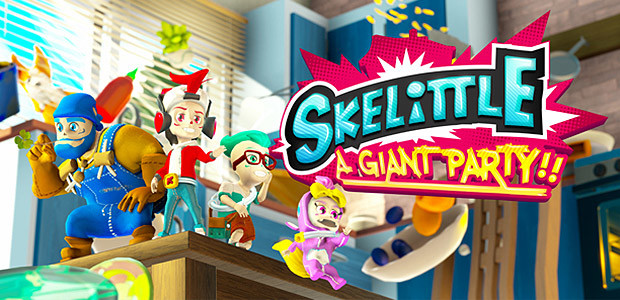 Skelittle: A Giant Party!! - Cover / Packshot